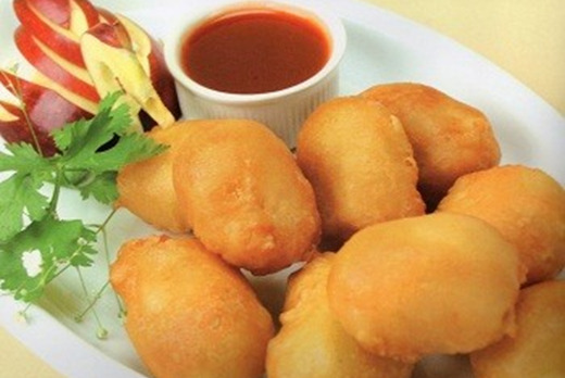 Crispy Balls with Sweet & Sour Sauce - Thai Food Delivery in Risley Close SM4