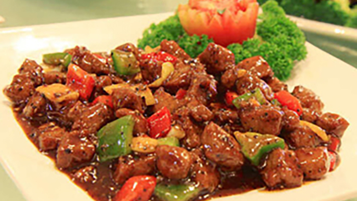 Beef with Black Beans & Green Pepper - Chinese Near Me Delivery in West Barnes KT3