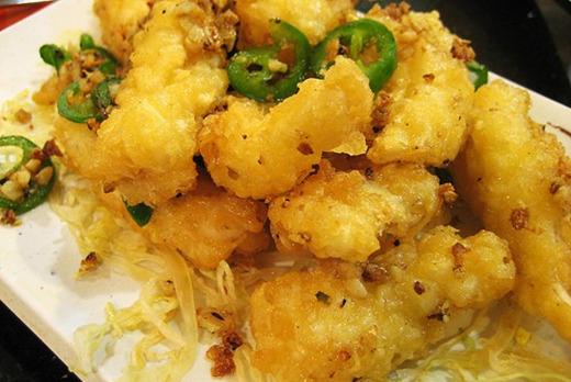 Peppercorn Salt with Squid - Thai Restaurant Takeaway in Putney SW15