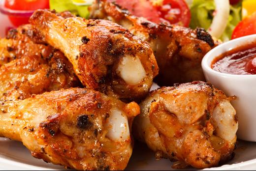 Peppercorn Salt with Chicken Wings - Dim Sum Takeaway in Copse Hill SW20