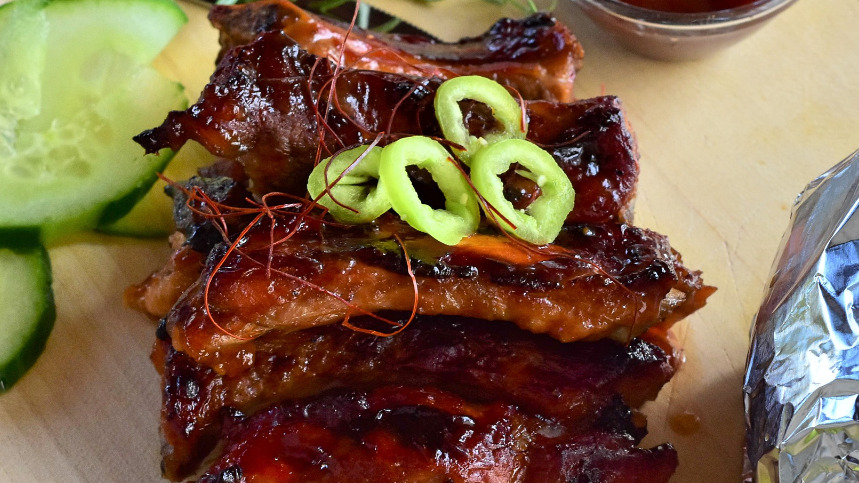Honey Spare Ribs - Dim Sum Delivery in Summerstown SW17