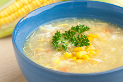 Chicken & Sweetcorn Soup - Xin's House Delivery in Clapham Junction SW11