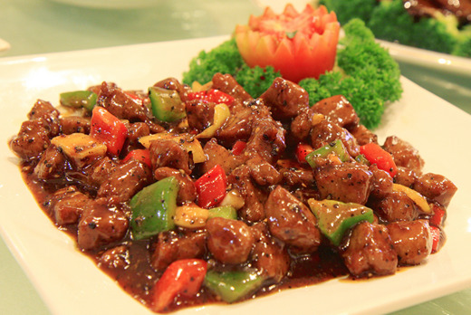 Beef in Black Pepper Sauce - Chinese Restaurant Delivery in Raynes Park SW20