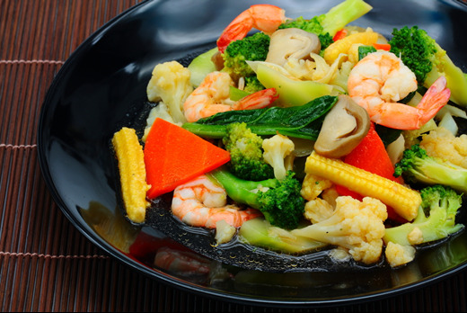 Stir Fried Mixed Vegetables - Local Chinese Delivery in Crooked Billet SW19