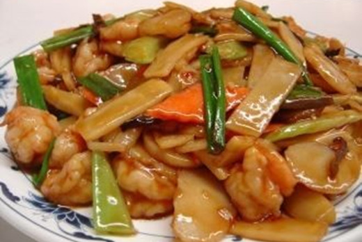 Bamboo Shoots & Water Chestnuts Stir Fried - Thai Food Delivery in Risley Close SM4