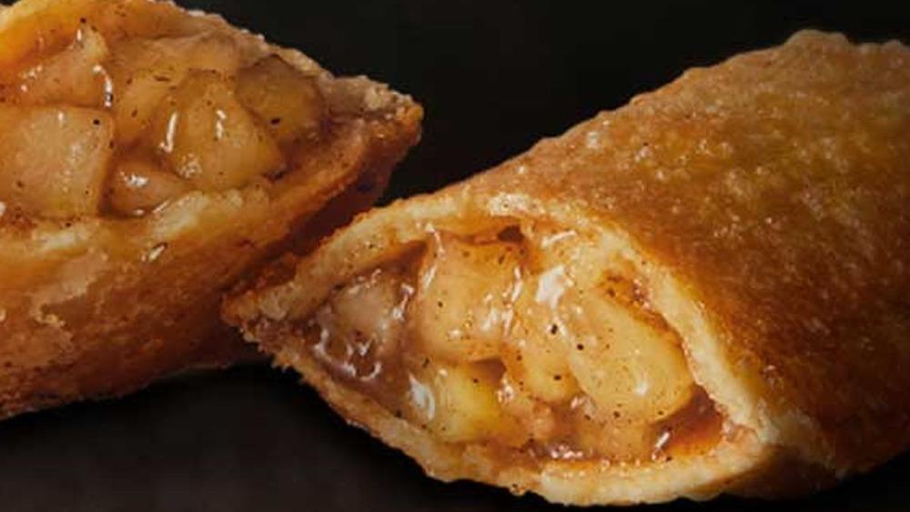 Apple pie & small vanilla ice cream tub - Chicken Takeaway in Whiteoak Green OX29