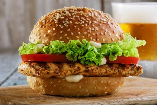 Chicken Breast Burger - Pizza Takeaway in Walton PE4